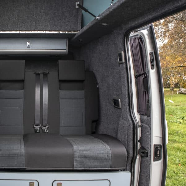 Seats of the campervan