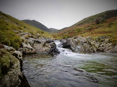 Waterfall Approaching Helvellyn
