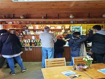 Bar in a vineyard in Kent