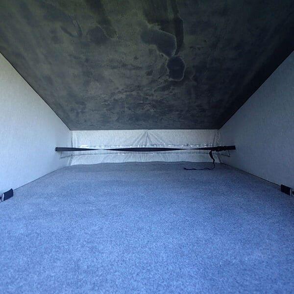 Campervan poptop roof bed