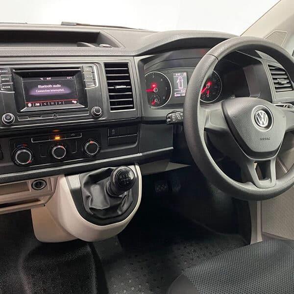 Campervan steering wheel
