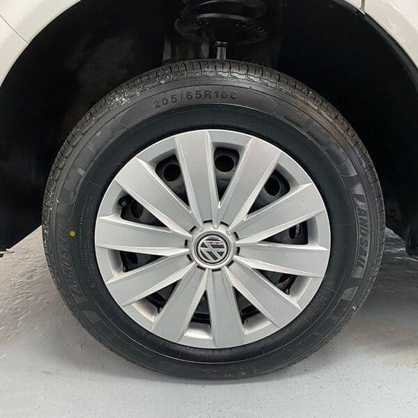 Campervan wheels