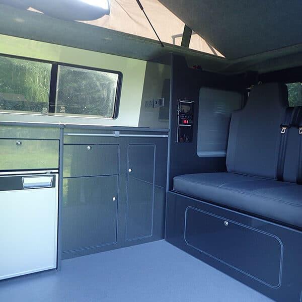 Campervan rear seats